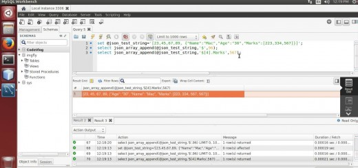 MySQL 5.7: Append value in JSON array using MySQL