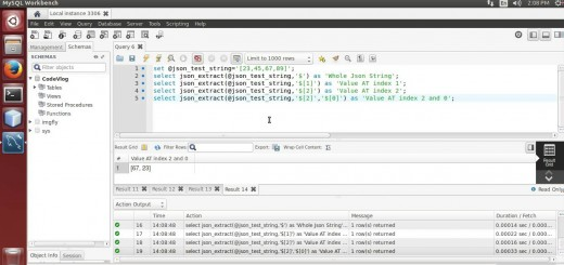 MySQL 5.7: Extract Value From JSON using MySQL