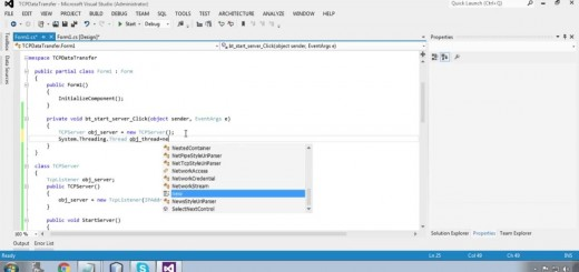 TCP Socket: Data Transfer without Single Byte loss using C#