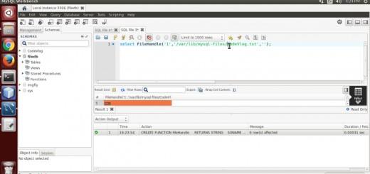 Write, Read, Delete File from MySQL Server(C programming)
