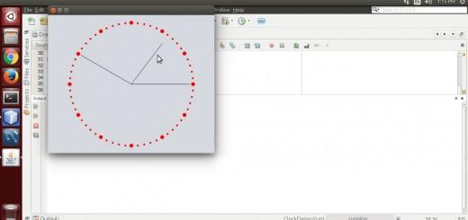 Draw Clock using Java Graphics2D