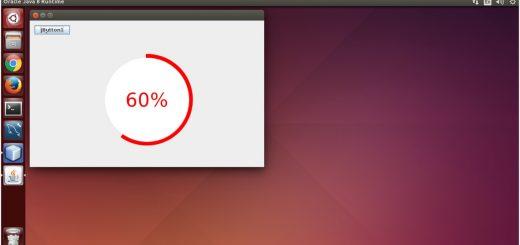 Circular Progressbar using Java