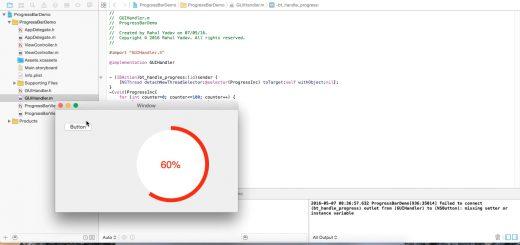 Circular Progress Bar using Objective C