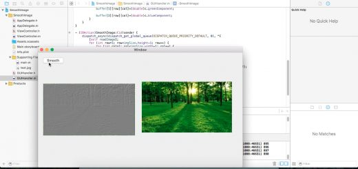 Emboss image using Objective-C