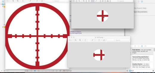 Circular image crop using Objective C